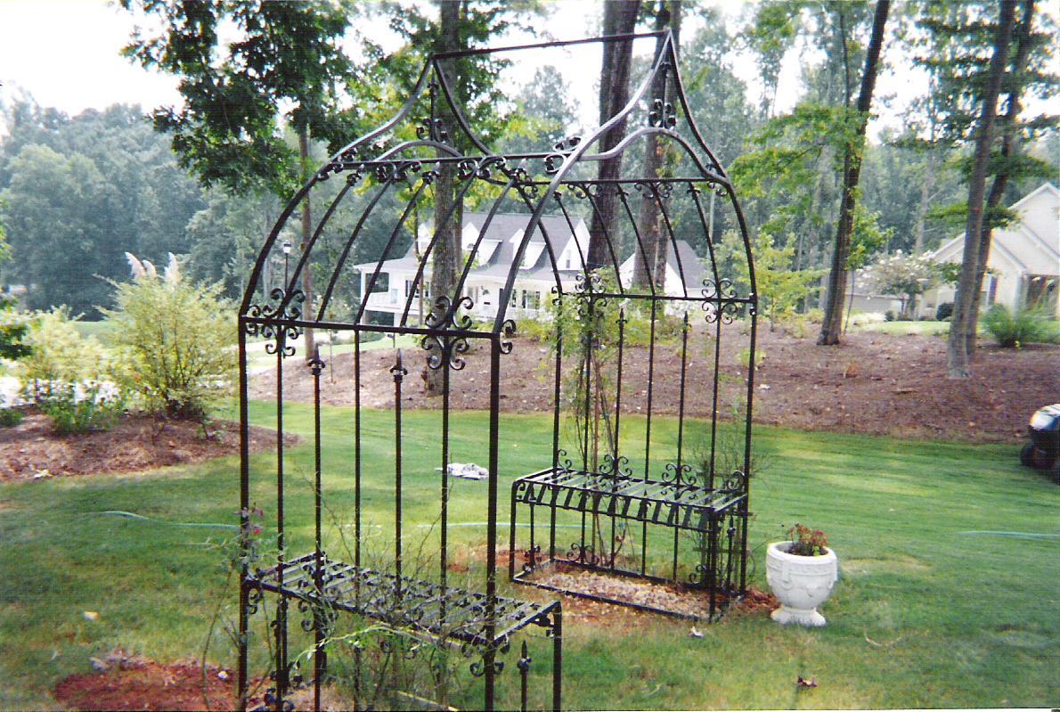 Arbors on Pinterest   Arbors, Garden Arbor and Wrought Iron